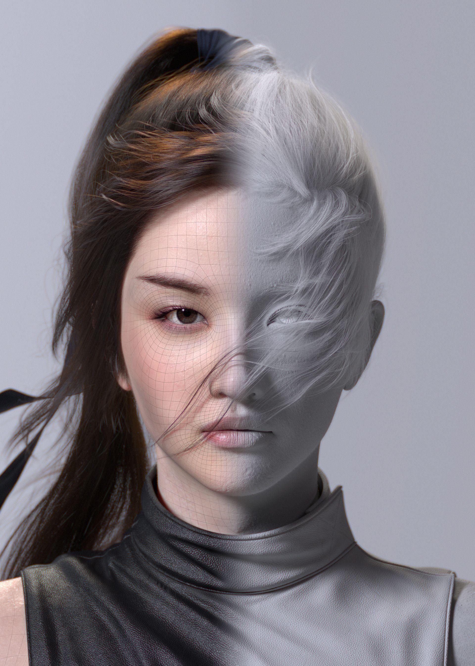 Pin En 3d Personajes Realistas
