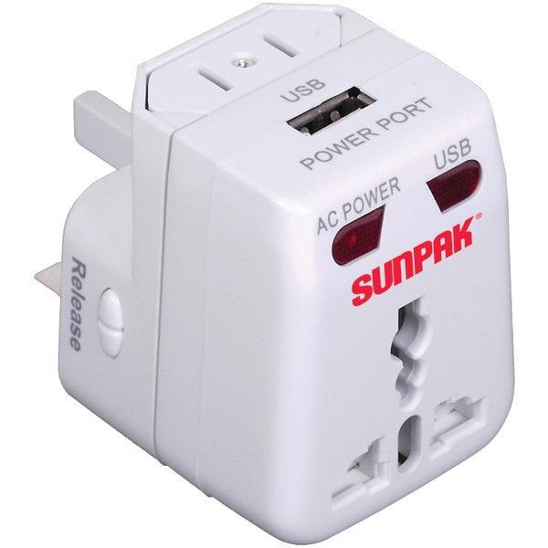 Sunpak Travel Adapt Universal Travel Adapter Power Adapter Travel Universal Travel Adapter Travel Adapter