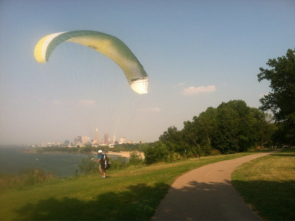 Cleveland Lakefront Trail (Courtesy David B.) - The Cleveland Lakefront Bikeway…