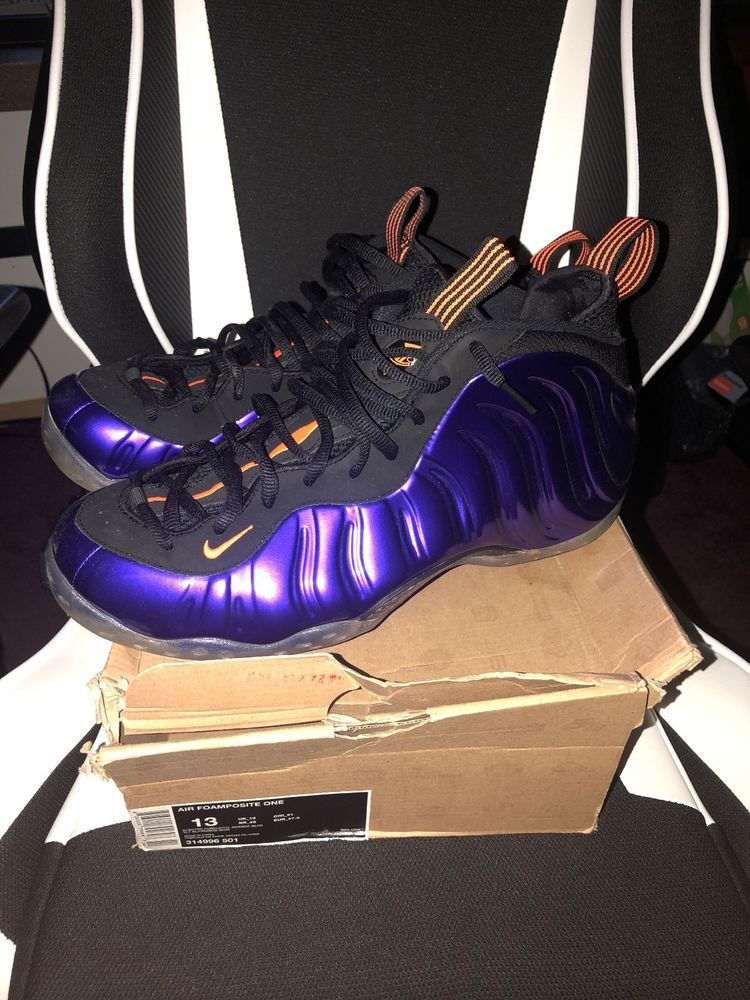 988363485b9 Nike Air Foamposite One Phoenix Suns Colorway Size 13  fashion  clothing   shoes  accessories  mensshoes  athleticshoes (ebay link)