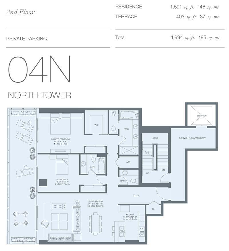 Pin By Yajayra Andrade On Condo Luxury Condo Condo Floor Plans Condominium Floor Plan