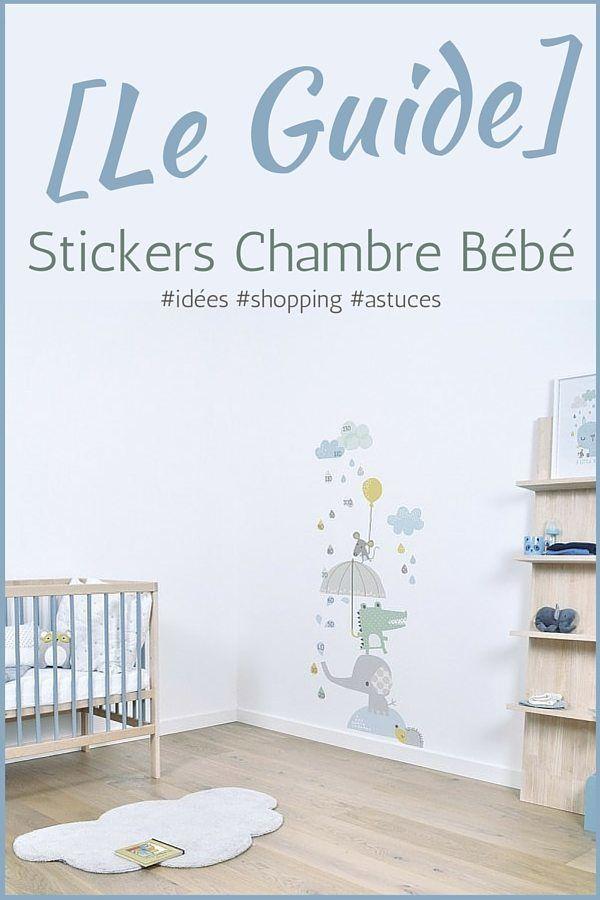 Stickers Chambre Bébé Garcon, Sticker Chambre Bebe, Deco Chambre Bebe Garcon,  Chambre Garcon
