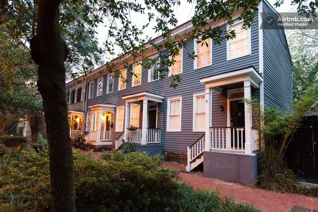 The Annabelle Historic District In Savannah Renting A House Georgia Vacation Savannah Chat