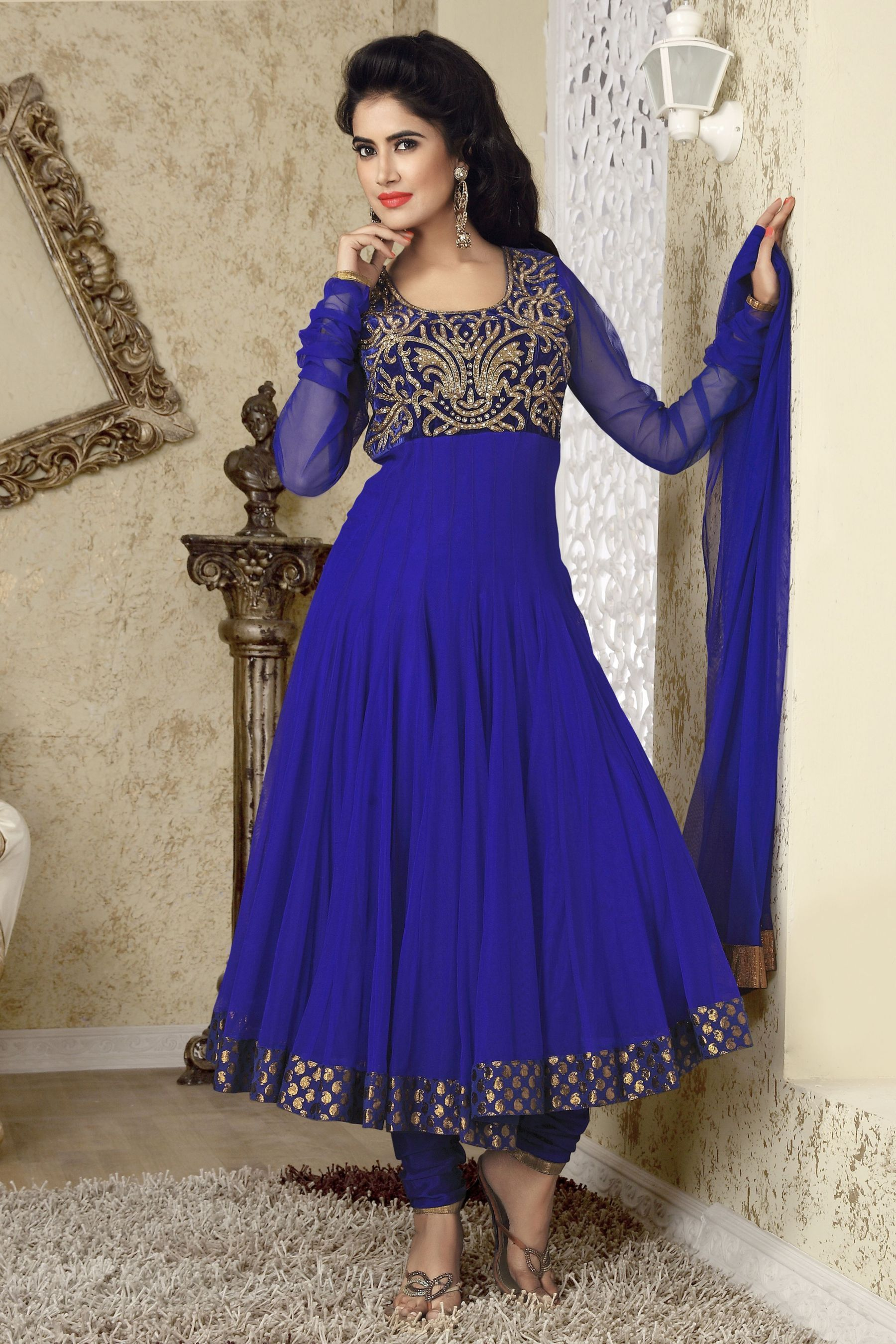 Latest Anarkali Dresses Designs 2014-15 For Eid-Ul-Azha 3 | HOW TO ...
