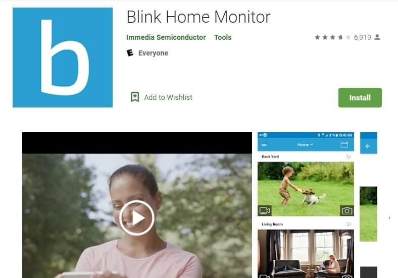 Blink app for pc home monitor installation monitor