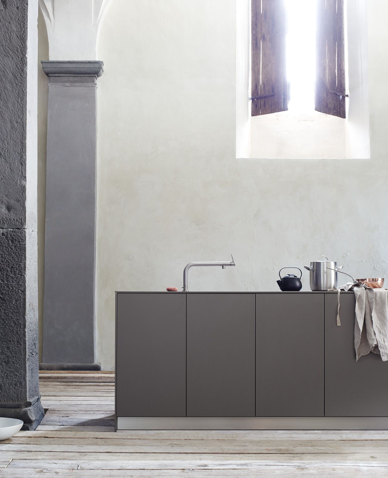 Bulthaupt Küchen Berlin With The Bulthaup Mixer Faucet You Can Control The Flow And
