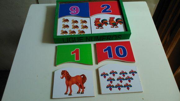 Jogo Ligue os números