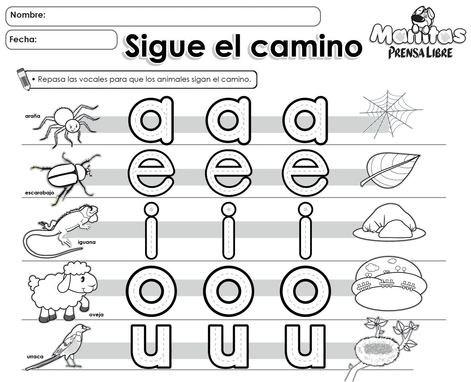 Free - Las vocales | Spanish Resources for K 1 | Pinterest | Dia de