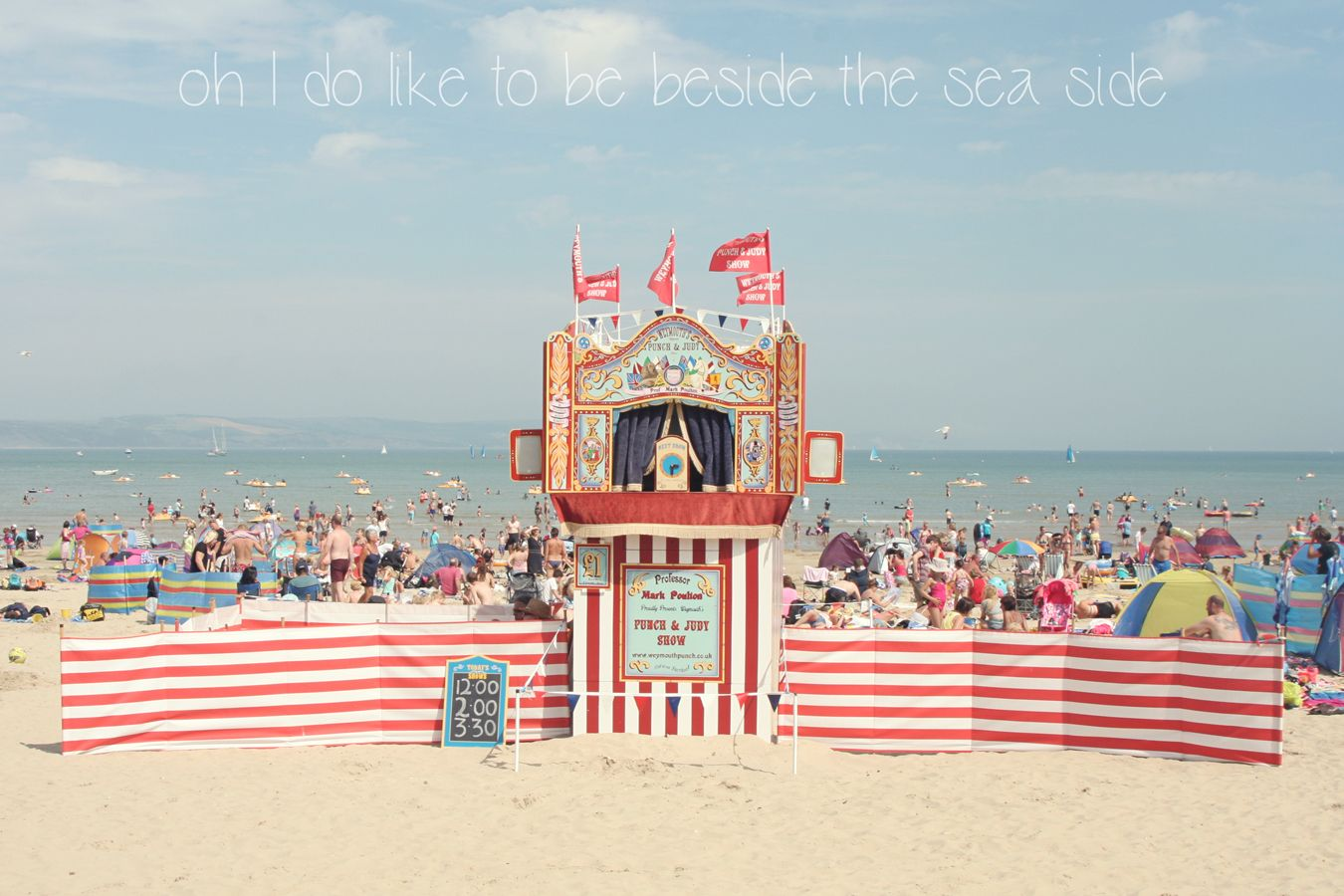Kiss the Frog x »Oh I do like to be beside the seaside ...
