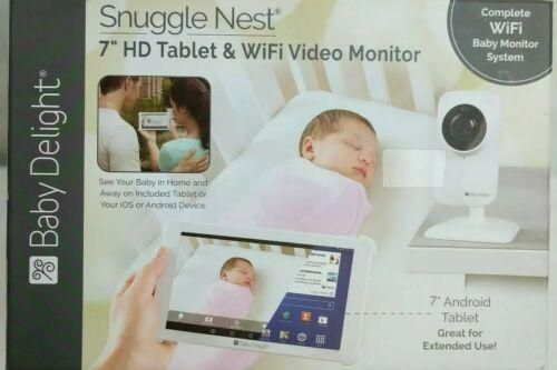 Baby Delight Snuggle Nest 7 Inch Hd Tablet And Wifi Video Monitor