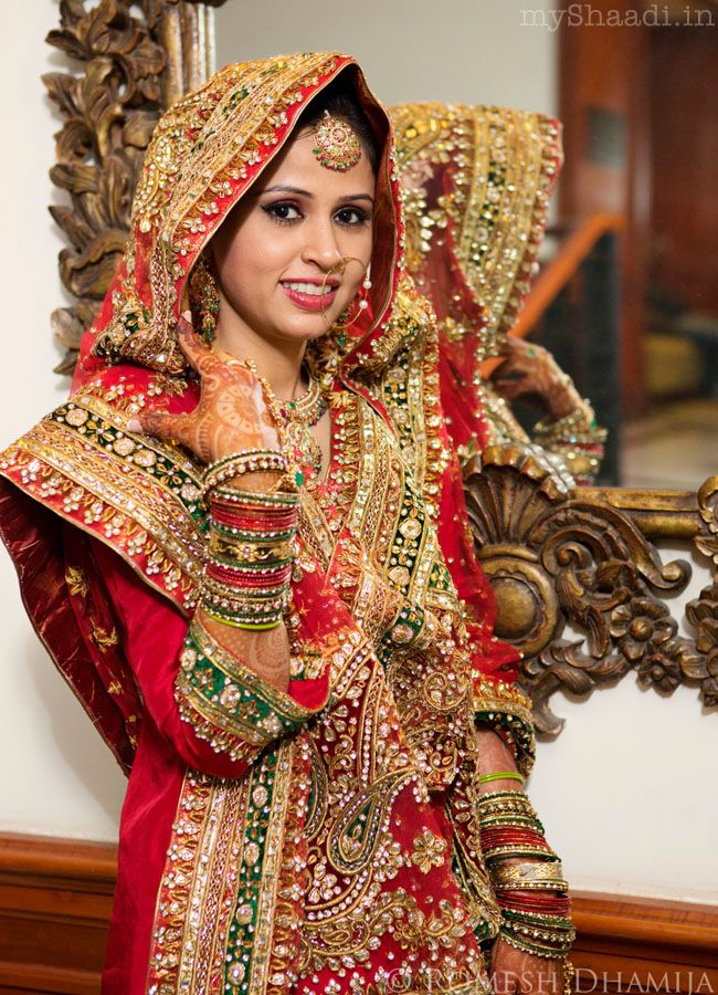 The Gorgeous Indian Bride Portraits By Romesh Dhamija