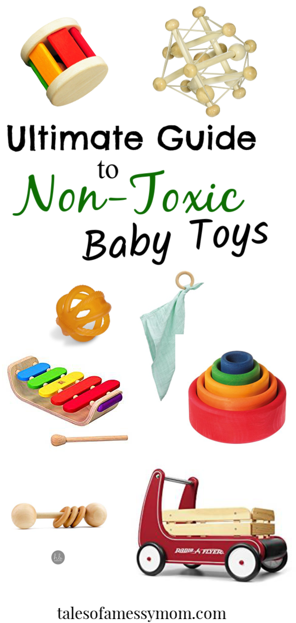 0edabbc2b80f 25 non-toxic toys that would be perfect Christmas gifts for babies 0-18  months. The perfect gift guide for natural moms. In this guide