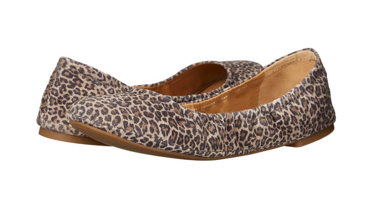 These cute and supportive picks will give you an extra spring in your step. Whether you are headed to Disney World or strolling around a beautiful botanical garden, these comfortable flats will give you the ability to express your personal style without sacrificing comfort. At under $100, they are also budget friendly.