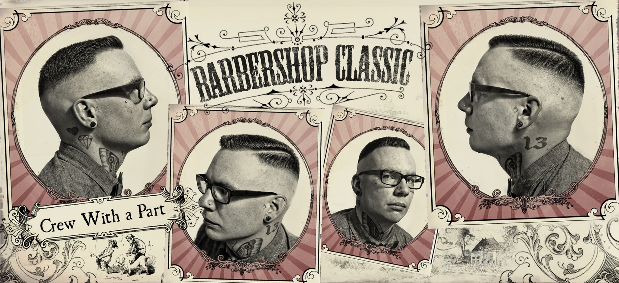 Barber Hair Styles: Signature Haircuts / Barbershop
