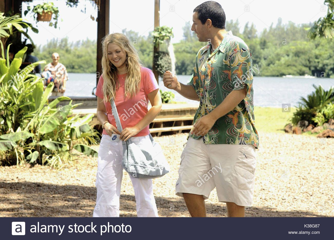 Drew Barrymore in 2020 50 first dates, Adam sandler