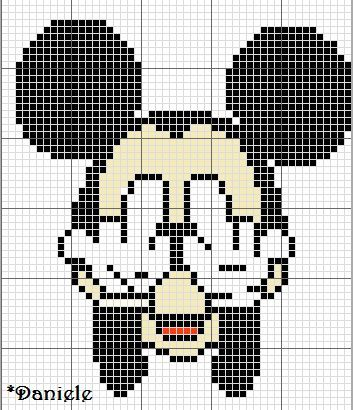 r sultat de recherche d 39 images pour pixel art la maison de mickey pixel art pinterest la. Black Bedroom Furniture Sets. Home Design Ideas