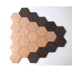 Hexagon Fun Hexagon Shaped Cork Tiles Getcork Pin Boards Crafts