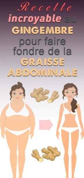 La graisse accumulée dans le ventre ne résiste JAMAIS à cette boisson! Perdez du poids rapidement avec cette formule ...