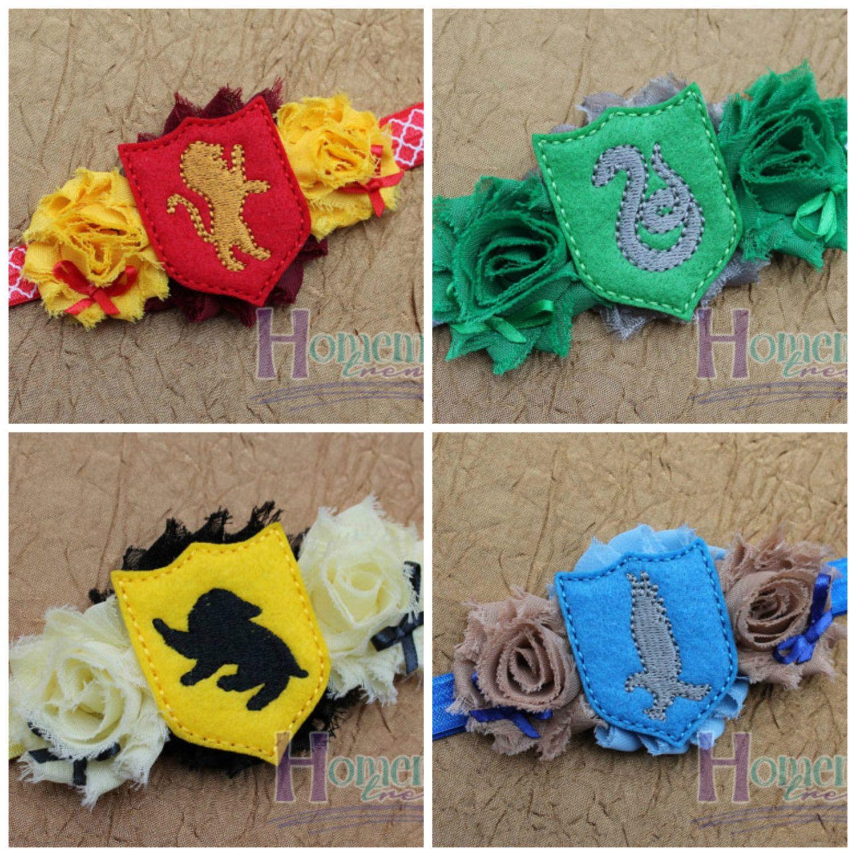 676c8595 Potter House Headbands-Wizard Headband-Harry Headband-Colored Flag  Headband-Wizard School Headbands-Wizard Potter Accessory-Wizard Cosplay -  pinned by ...