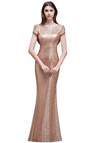 Chic MisShow MisShow Women Rose Gold Sequins Prom Bridesmaid Dress Long  Evening Gowns Formal womens dresses.   59.99 - 68.99  topoffergoods.ga from  top ... 8866f46f45