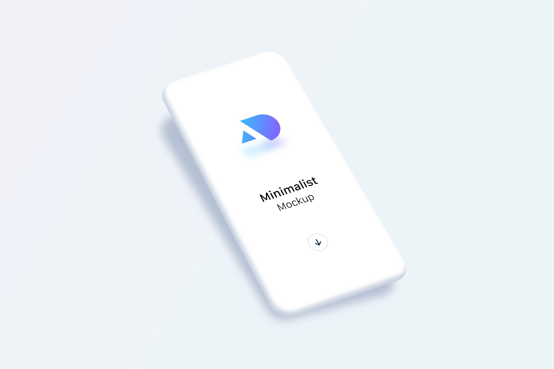 Free Sketch Minimalist Phone Mockup Minimalist Phone Phone Mockup Phone