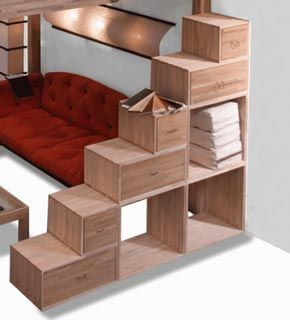 scala per letto a soppalco | Design | Pinterest | Shelving