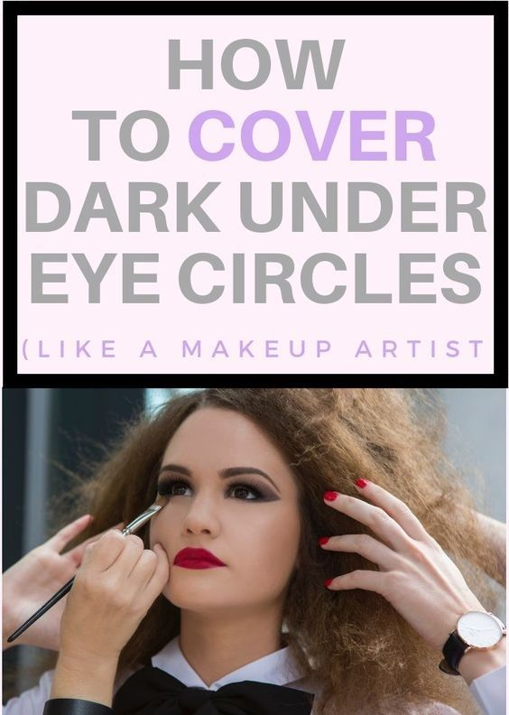 How To Hide Dark Circles Around Eyes With Makeup #darkcircle