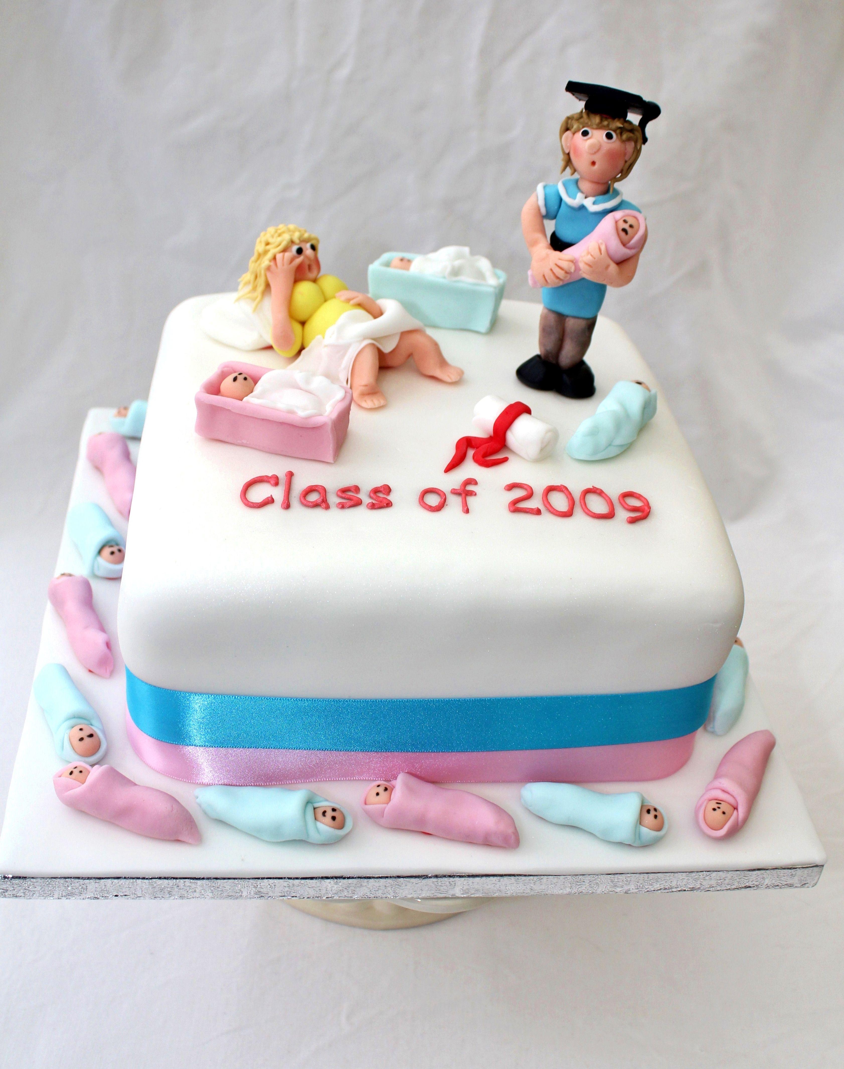 auxiliary midwife cake celebration cakes midwife graduation cake