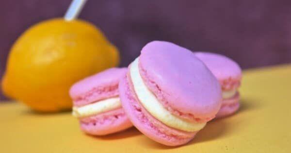 Raspberry Lemonade Macarons Check more at https://wikilatest.com/food-cooking/cooking-recipes... #raspberrylemonade