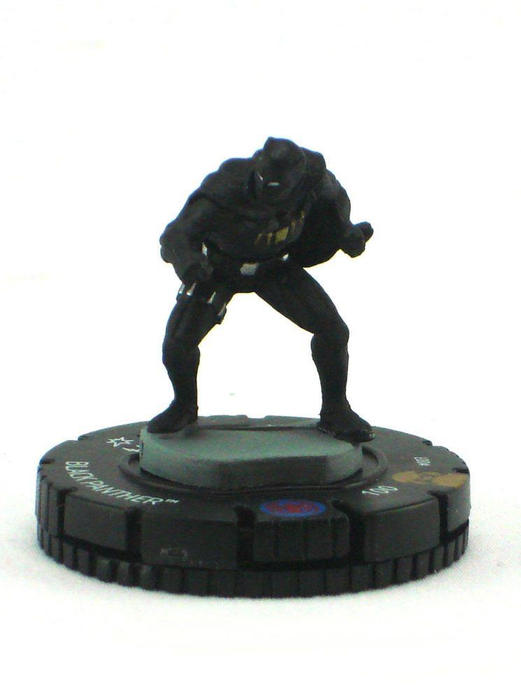 Heroclix Avengers vs X-Men set Black Panther #007 Limited Edition figure w//card!