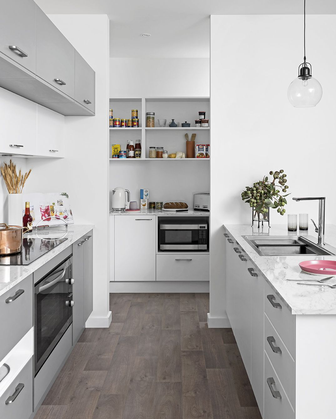 Scullery Pantry Building Blocks   kaboodle kitchen   Country ...