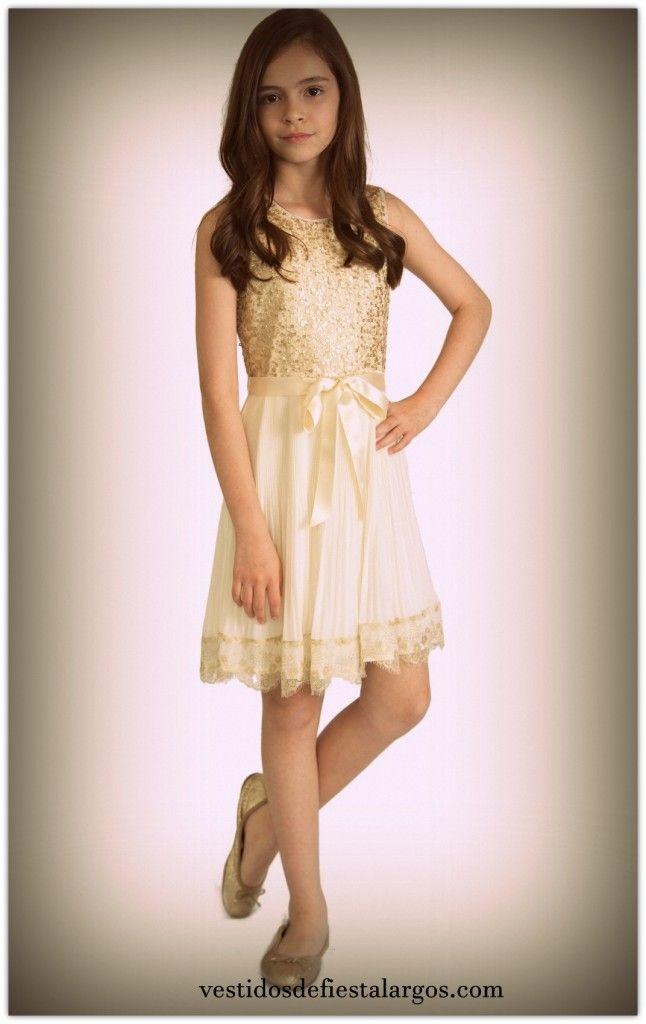 46412d61b Resultado de imagen para vestidos niña 12 años | VESTIDOS | Simple ...