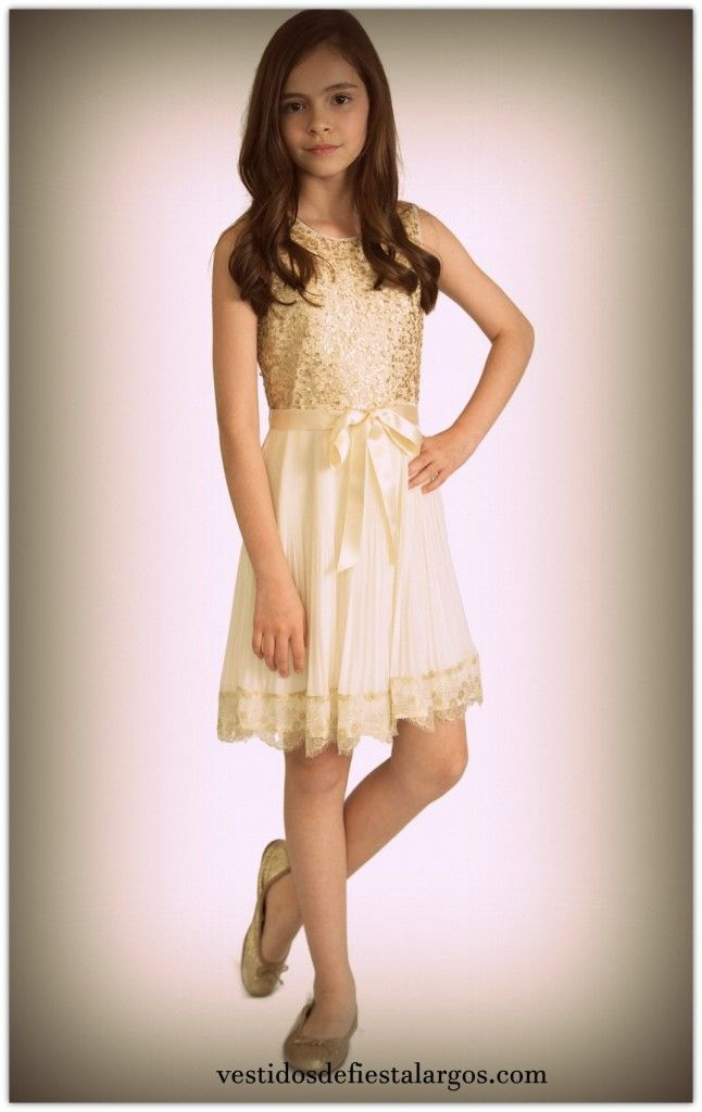dbecd338a vestidos de fiesta para niña de 12 años | Moda infantil in 2019 ...