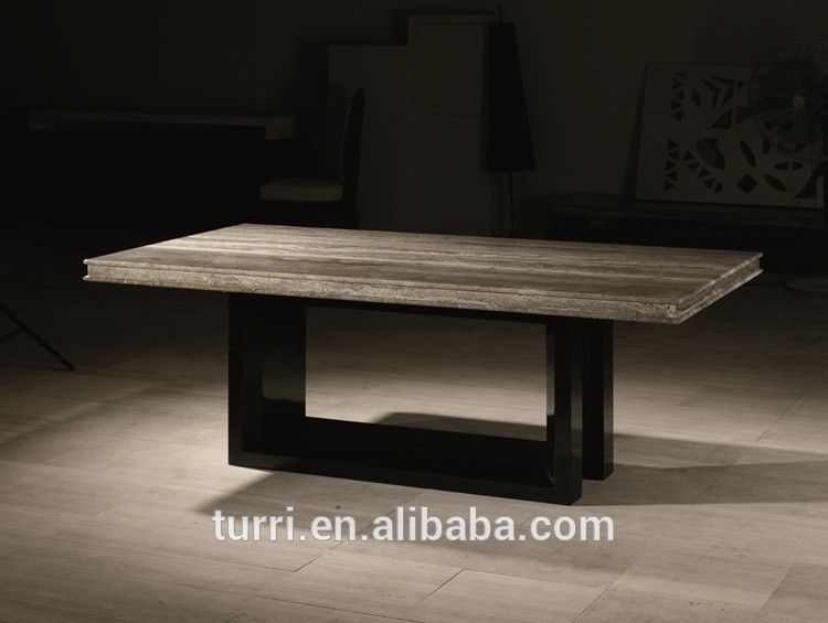 Wholesale Luxury Furniture Modern Natural Stone Marble Top Dining