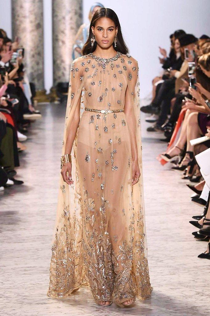 Elie saab fashion shows haute couture couture y haut - Diva noche reviews ...