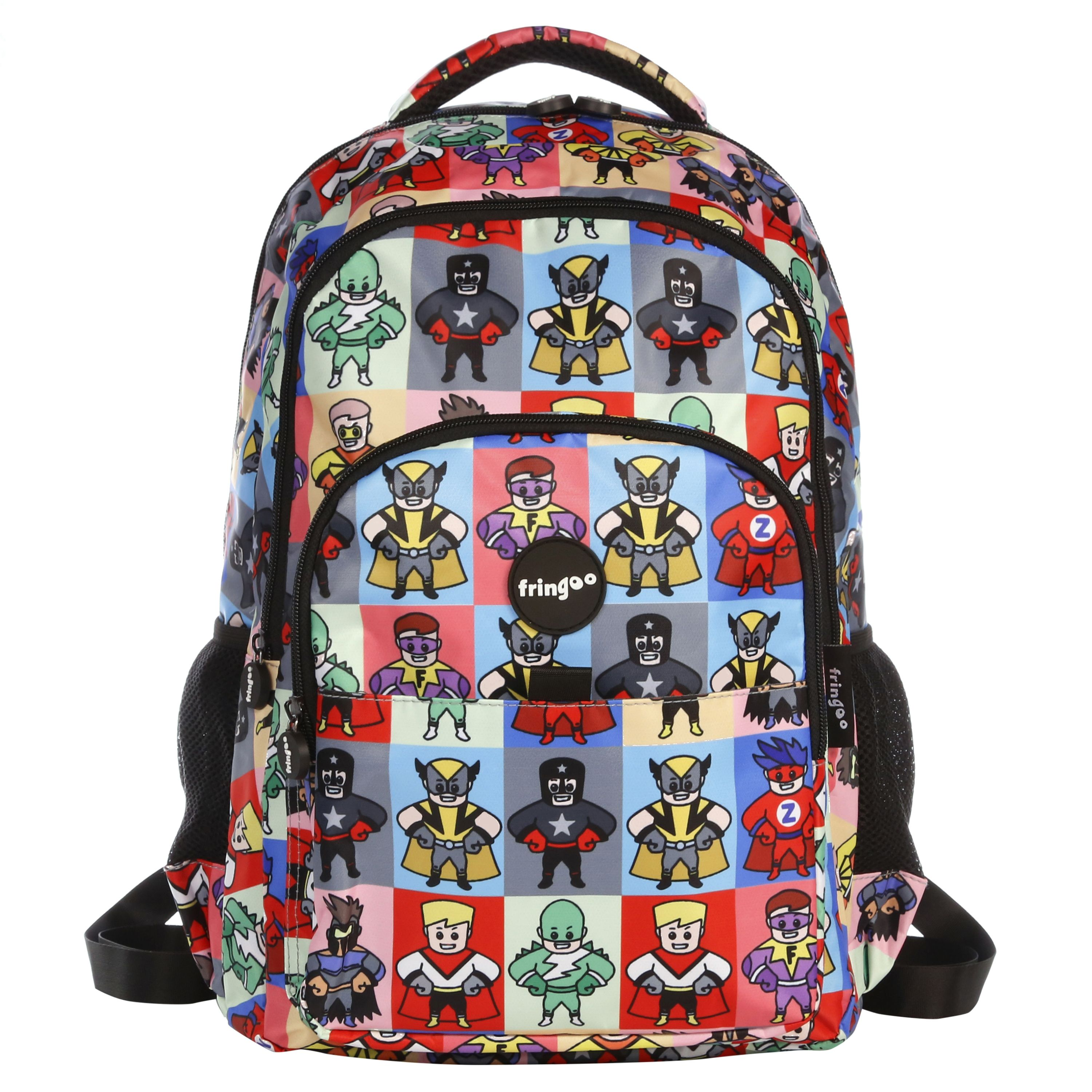 9e1ccc193a4d Multi Compartment Backpack - Superheroes