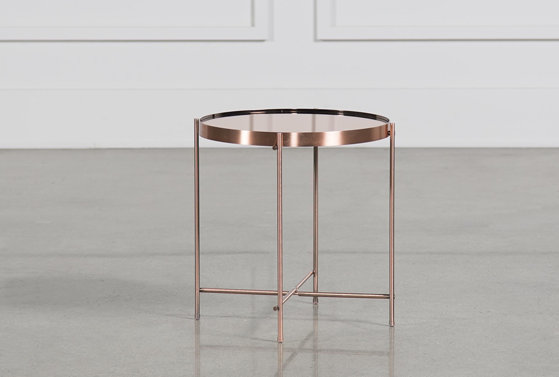 Pascal copper side table signature house and home pinterest