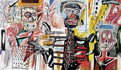 SUMMERTIME: Jean-Michel Basquiat - das Strahlenkind - SoultrainC - Schwarz auf Weiß - myblog.de