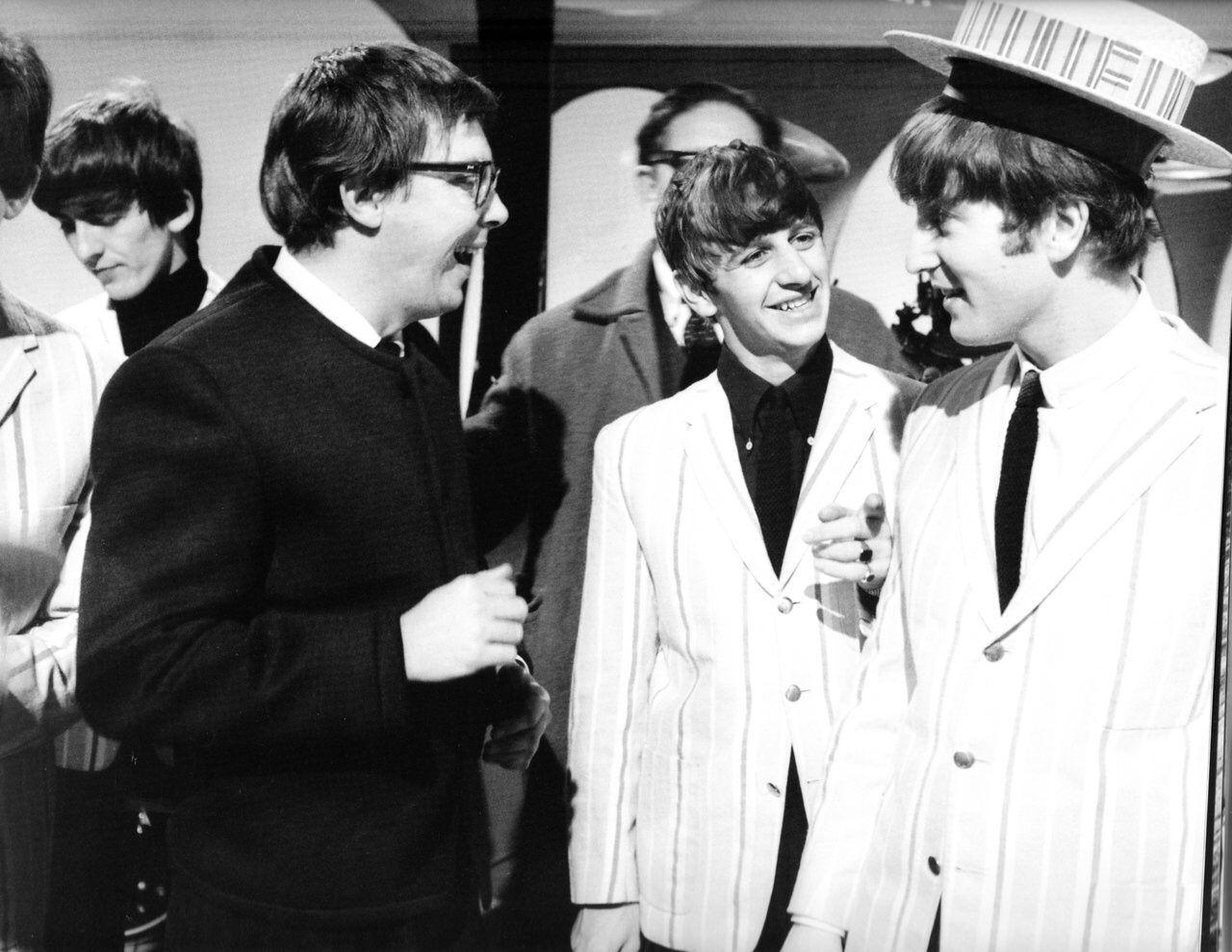 We All Live In A Yellow Submarine,Yellow Submarine — ringodreammer:   The Beatles on the Morecambe and...
