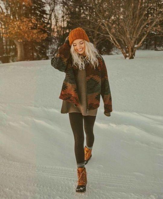 10 Winter-Outfits, die auch an den kältesten Tagen noch süß aussehen - Clothes - Mode