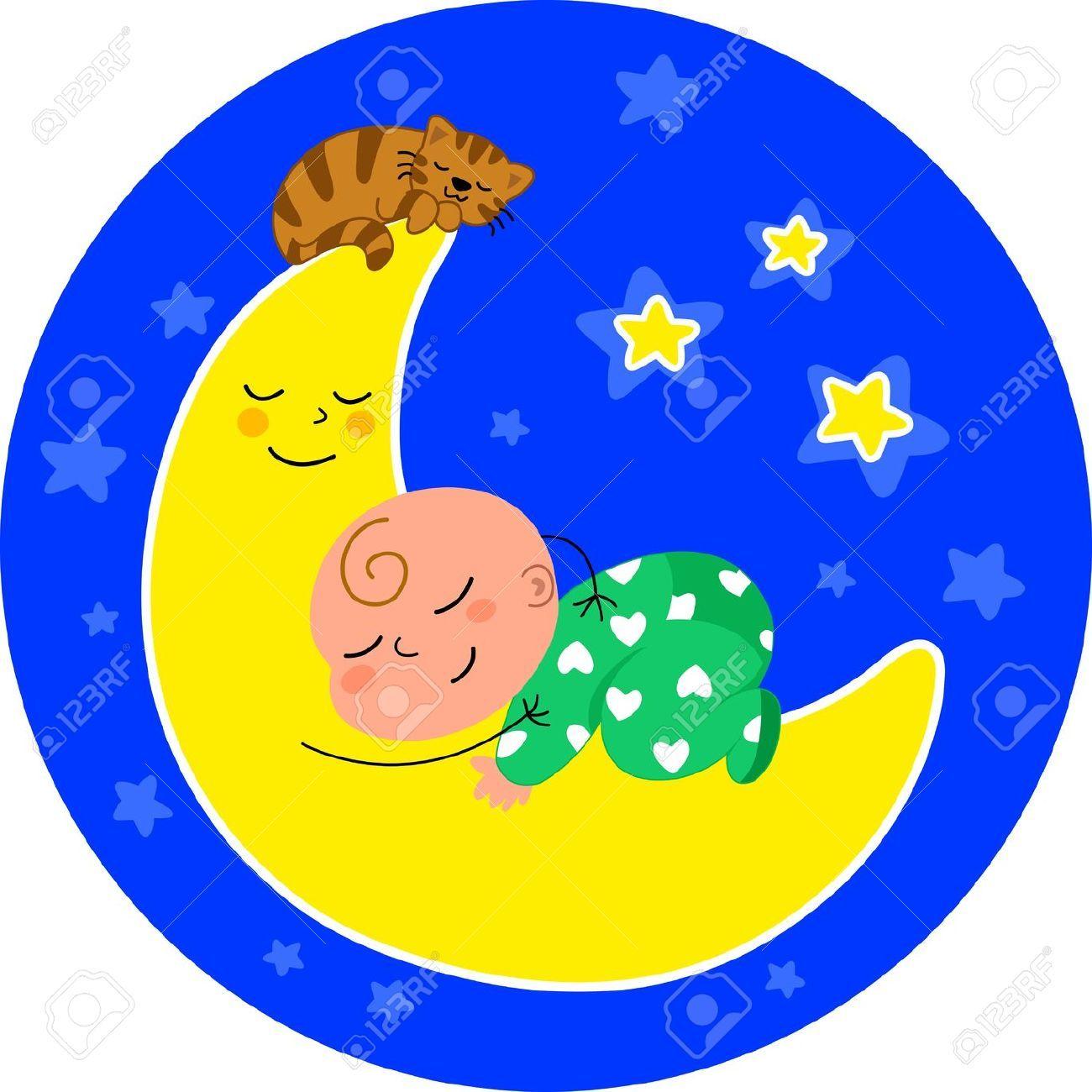Bebe durmiendo dibujo buscar con google proyectos - Dibujos de lunas infantiles ...