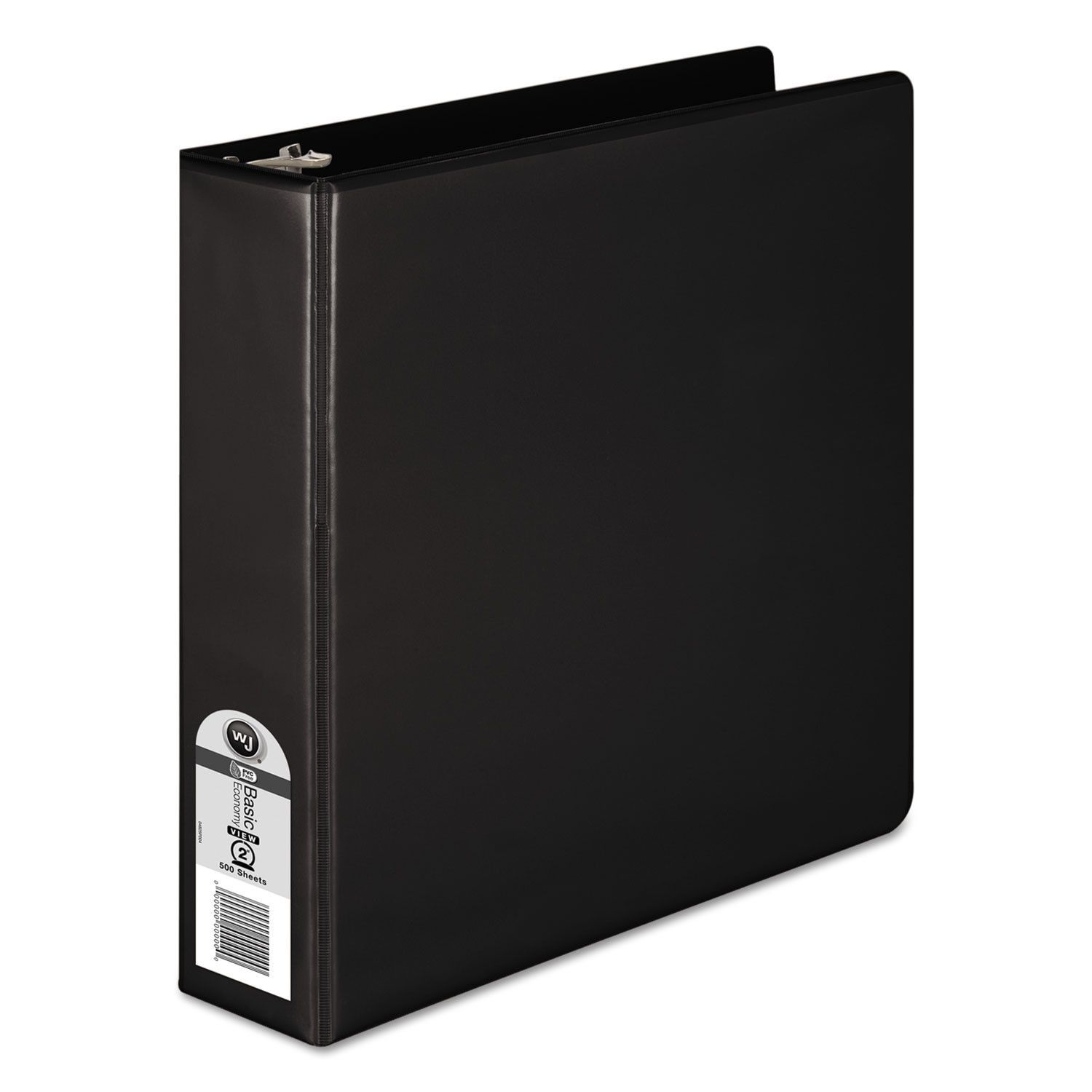 "362 Basic Round Ring View Binder, 2"" Cap, Black"