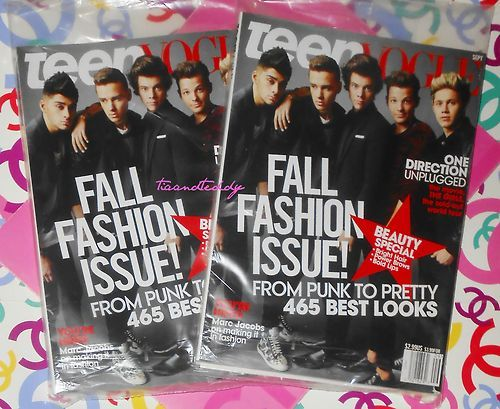 One Direction cover teen vogue's September Fall Fashion Issue http://stores.ebay.com/tiaandteddy/_i.html?_nkw=new+2013+issue=Search_TitleDesc=1&_sid=55920943