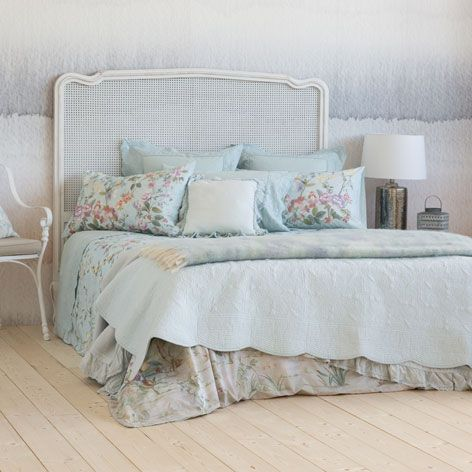 Floral-motif quilt and pillow cover - Quilts - Bedroom | Zara Home United States