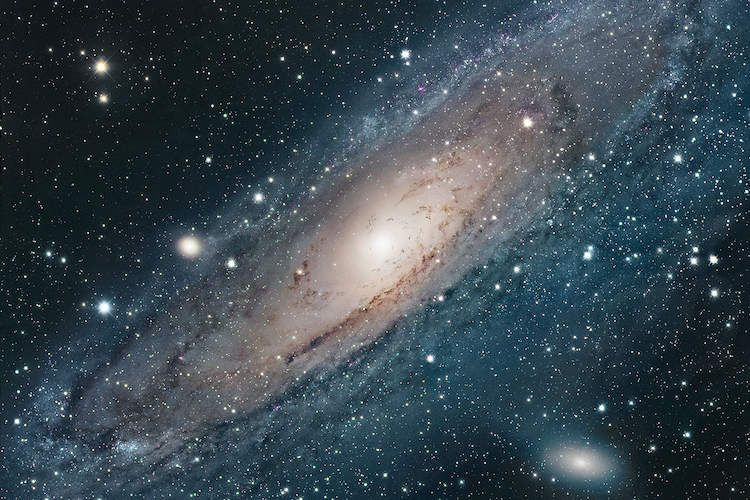M31 Andromeda Galaxy I Art Print By Robert Gendler Icanvas In 2021 Andromeda Galaxy Nebula Hd Space