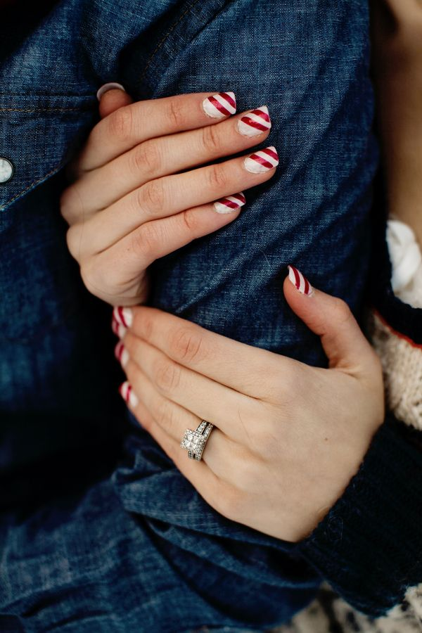 peppermint nails |  caroline ross photography