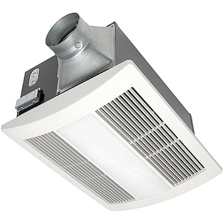 Whisper warm 110 cfm ceiling mounted fan heat light night light