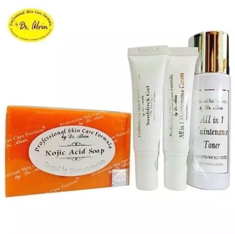 Dr Alvin Professional Skin Care Formula All In 1 Maintenance Set 100 Authentic Ebay Professional Skin Care Products Skin Care Moisturizer Skin Gel