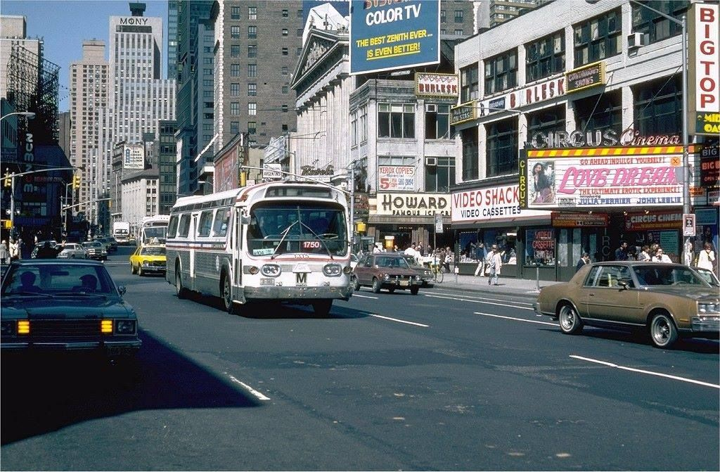 Times Square in the 1970's.................For more classic 60's and 70's pics please visit & like my Facebook Page at https://www.facebook.com/pages/Roberts-World/143408802354196