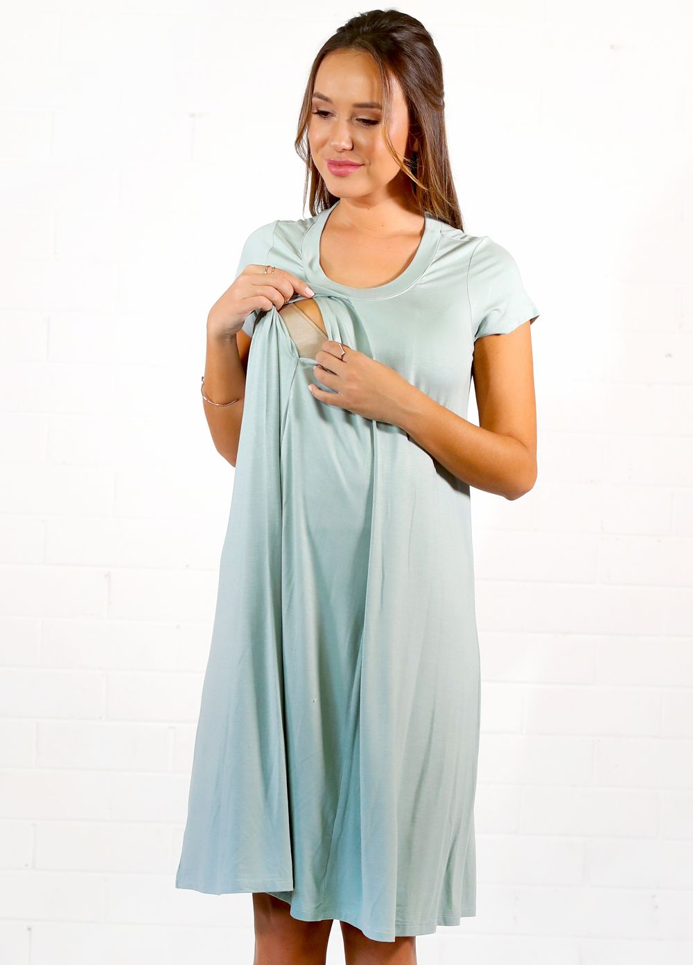 Floressa - Jayda Hospital Nursing Gown | Prego.....again ...
